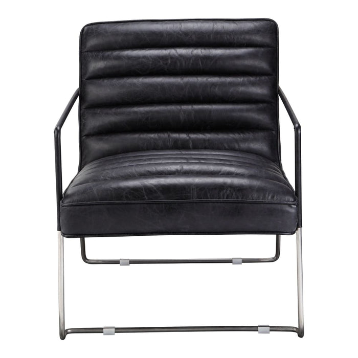 DESMOND CLUB CHAIR - BLACK