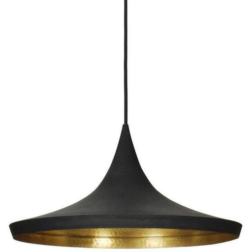 Disc Pendant Lamp Black
