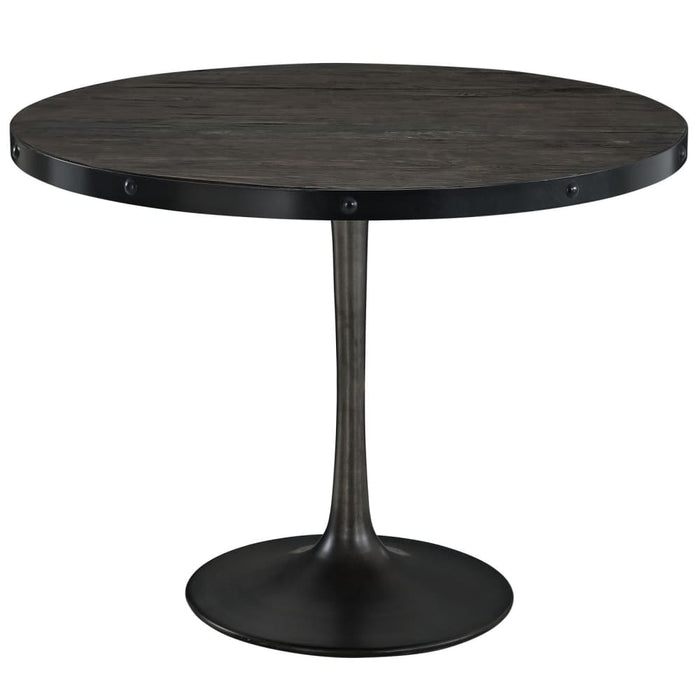 DRIVE 40 ROUND WOOD TOP DINING TABLE