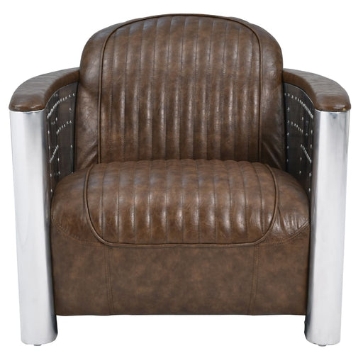 Easton Accent Chair-Mocha