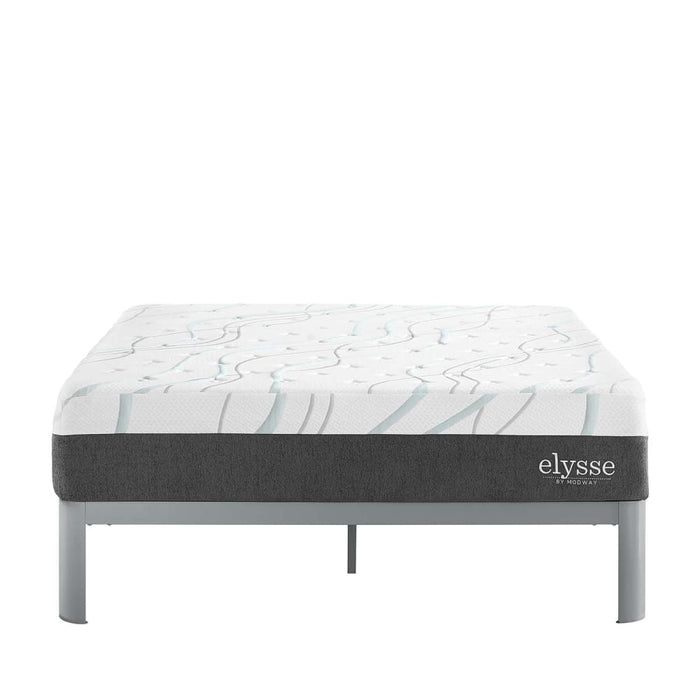 ELYSSE QUEEN CERTIPUR-US® CERTIFIED FOAM 12 GEL INFUSED HYBRID MATTRESS