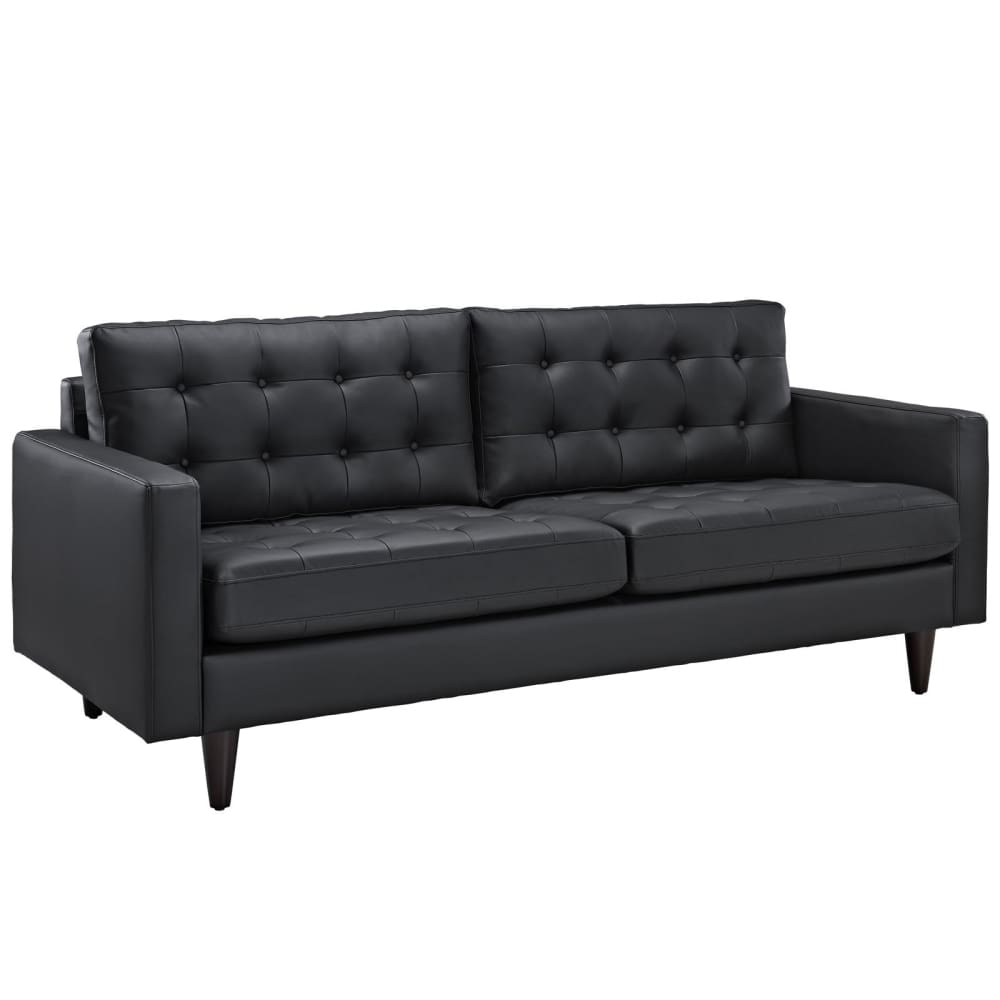 EMPRESS BONDED LEATHER SOFA
