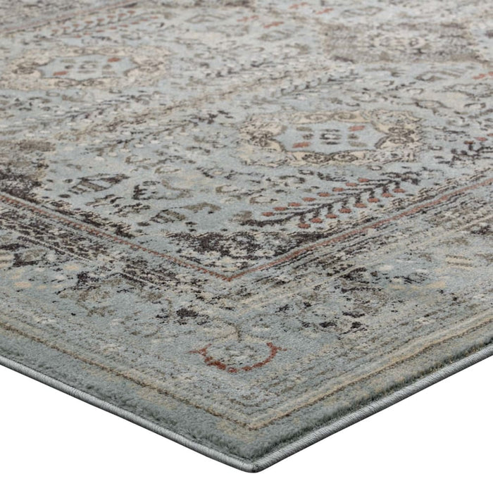 ENYE DISTRESSED VINTAGE FLORAL LATTICE 8X10 AREA RUG