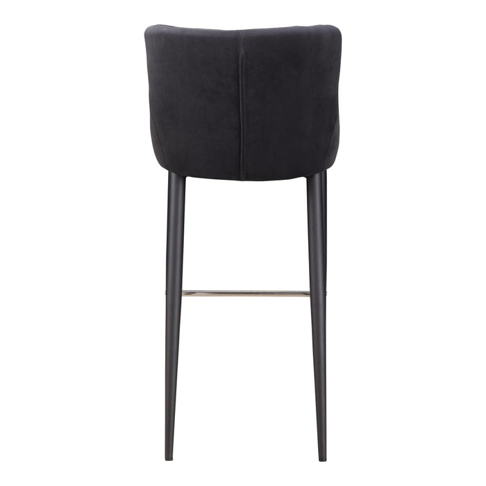 ETTA BAR STOOL DARK GREY
