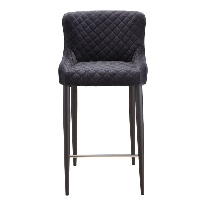 ETTA COUNTER STOOL DARK GREY