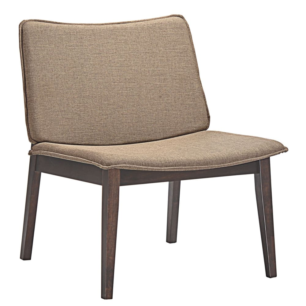 EVADE UPHOLSTERED FABRIC LOUNGE CHAIR