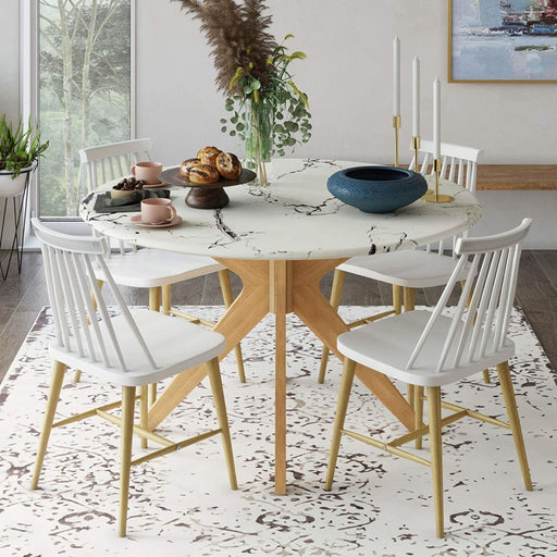Evelyn Dining Table Natural Finish