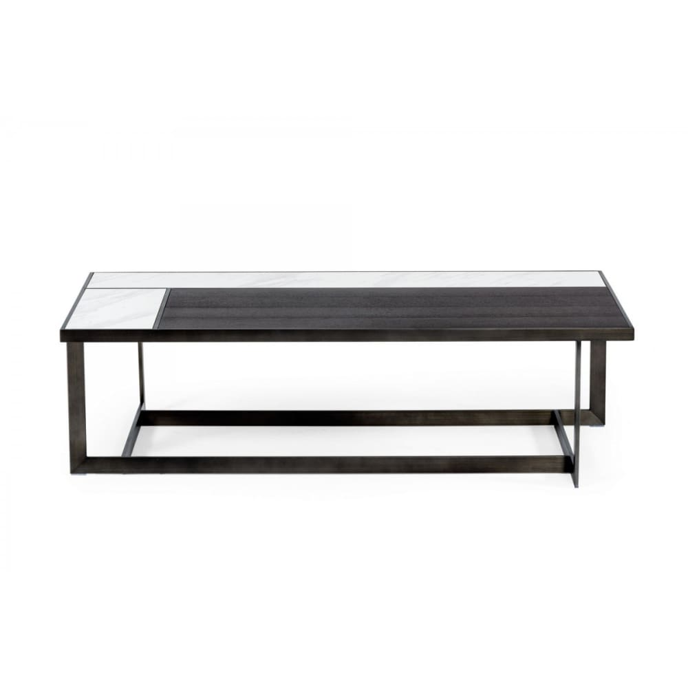 Fargo Ceramic & Grey Walnut Coffee Table