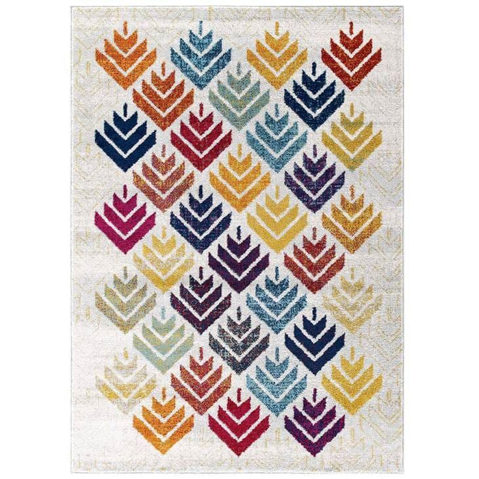 Florin Abstract Area Rug 5 x 8