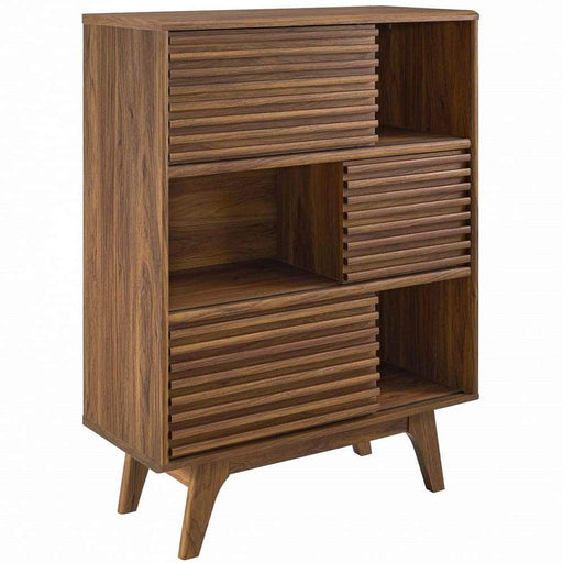 Frank Lloyd Three Tier Display Storage Cabinet Stand