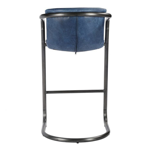 FREEMAN BARSTOOL BLUE-SET OF TWO