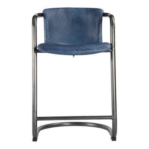 FREEMAN COUNTER STOOL BLUE-SET OF TWO