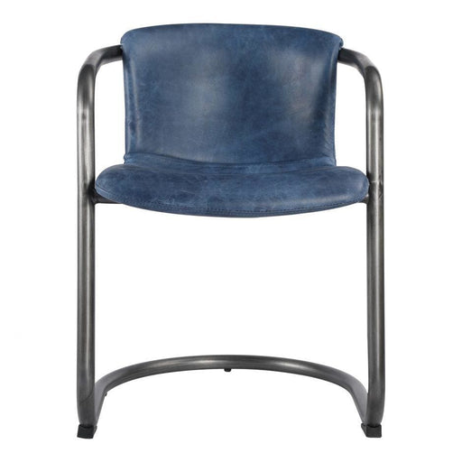 FREEMAN DINING CHAIR BLUE-SET OF TWO