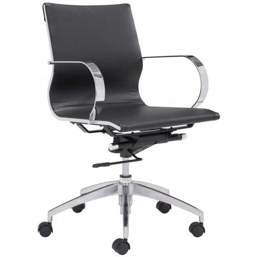 Glide Low Back Office Chair Black