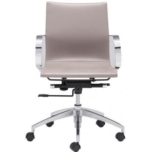 Glide Low Back Office Chair Taupe