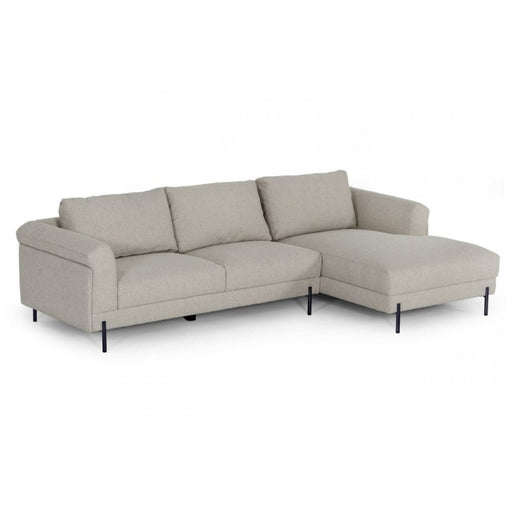 Halifax Sectional Sofa with Right Facing Chaise