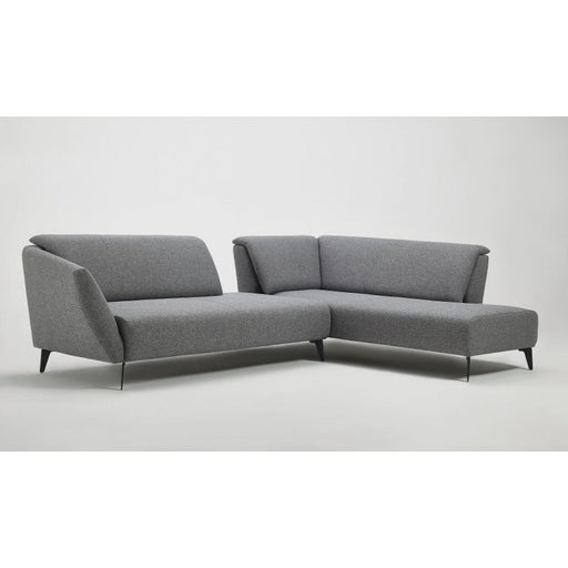 Harold Modern Grey Fabric Sectional Sofa