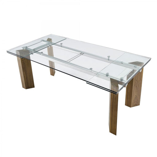 Harvard Extendable Glass Dining Table - Large