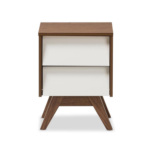 Hilton Two Drawer Nightstand
