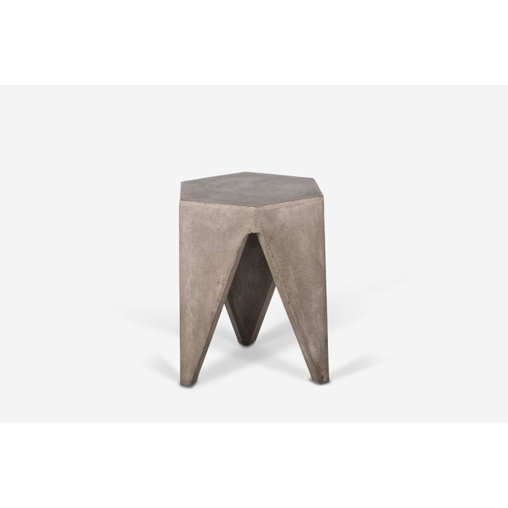 Hugo Modern Concrete Stool
