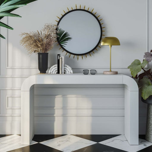 Hump Console Table