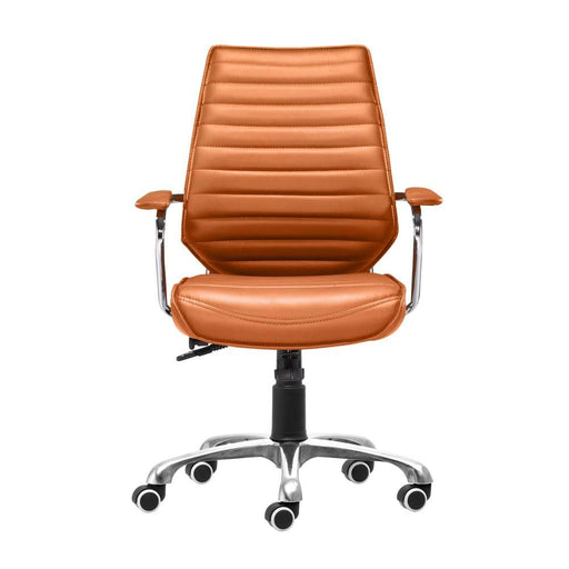 Interview Low Back Office Chair Terracotta
