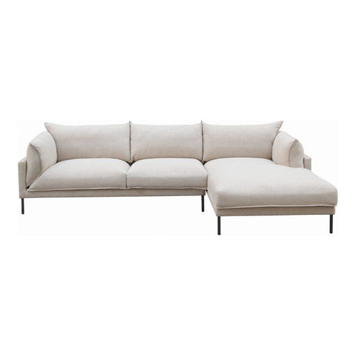 JAMARA SECTIONAL RIGHT LIGHT GREY