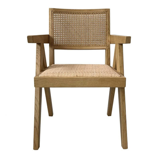 Jeanneret Design Arm Chair Natural
