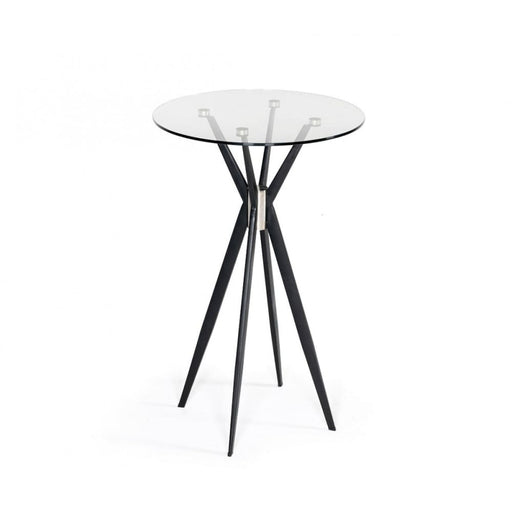 Kaitlyn Black Bar Table