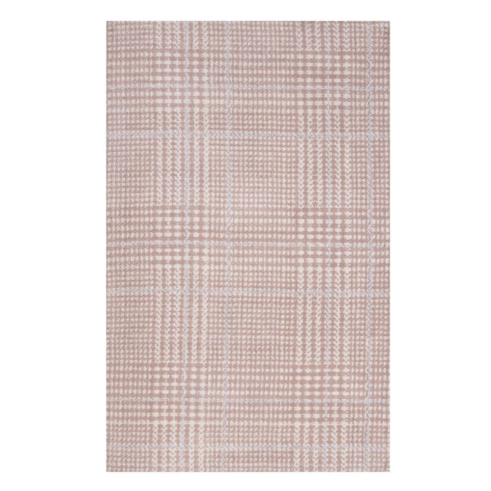 KAJA ABSTRACT PLAID 5X8 AREA RUG