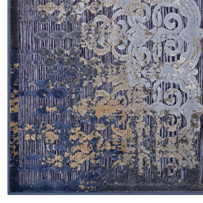 KALENE DISTRESSED VINTAGE TURKISH 5X8 AREA RUG