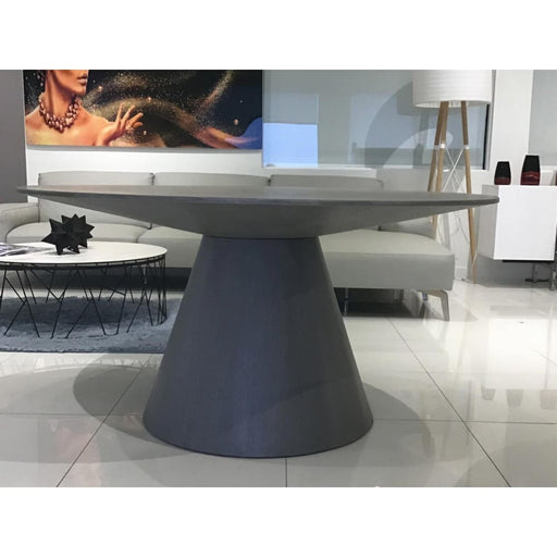 Kima Dining Table Grey Round