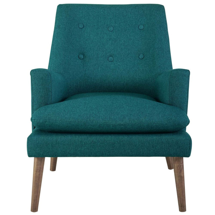 LEISURE UPHOLSTERED LOUNGE CHAIR
