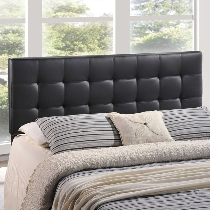 LILY QUEEN UPHOLSTERED VINYL HEADBOARD