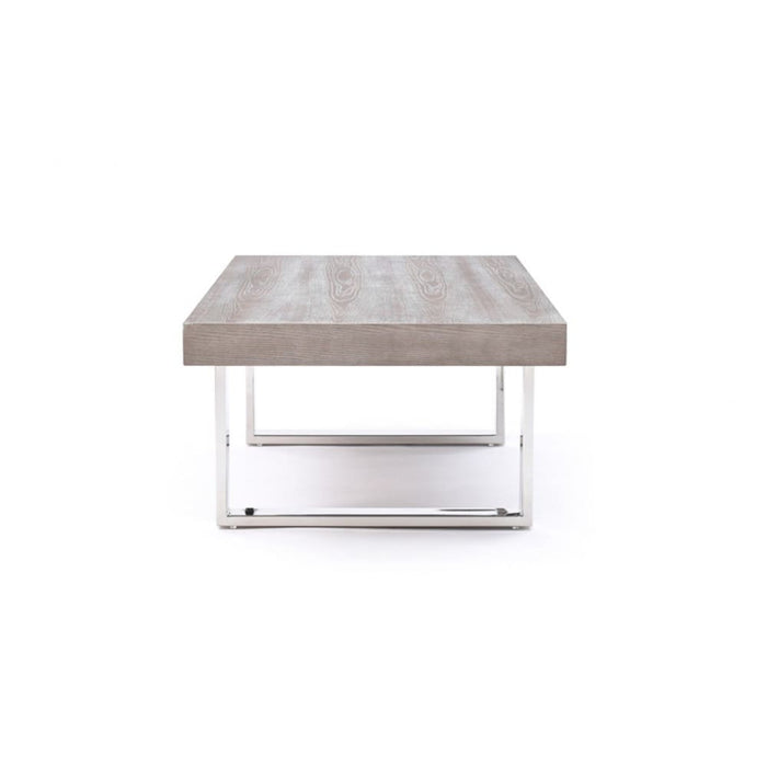 Lola Grey Brush Coffee Table