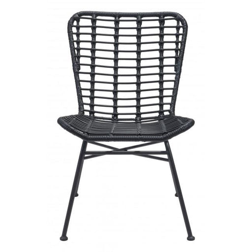 Lorena Dining Chair Black Set of 2