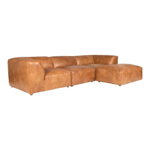 LUXE LOUNGE MODULAR SECTIONAL TAN