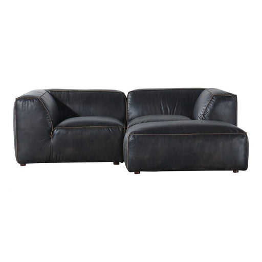 LUXE NOOK MODULAR SECTIONAL ANTIQUE BLACK