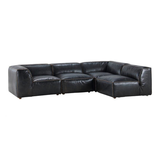 LUXE SIGNATURE MODULAR SECTIONAL ANTIQUE BLACK