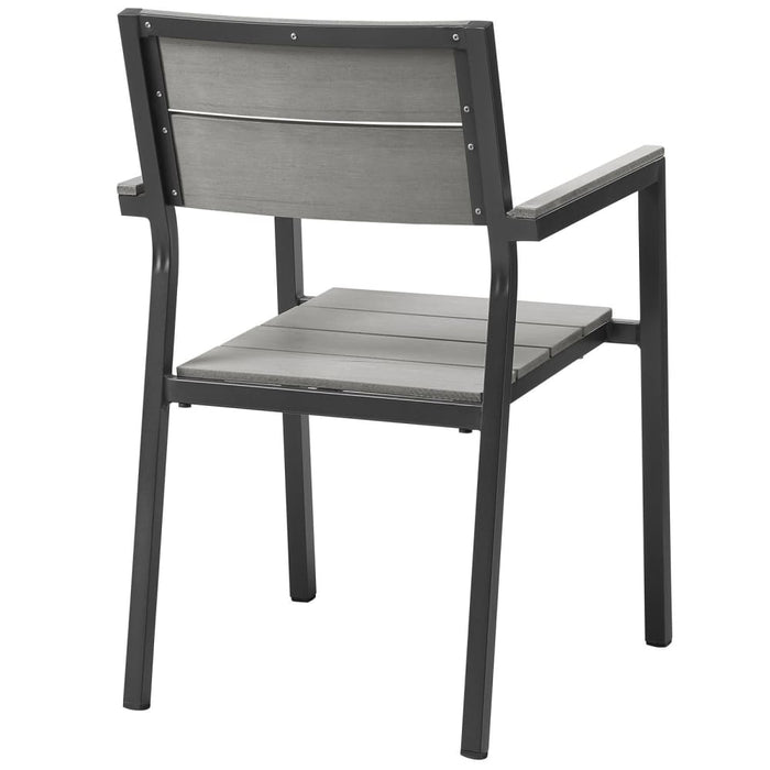 MAINE DINING OUTDOOR PATIO ARMCHAIR