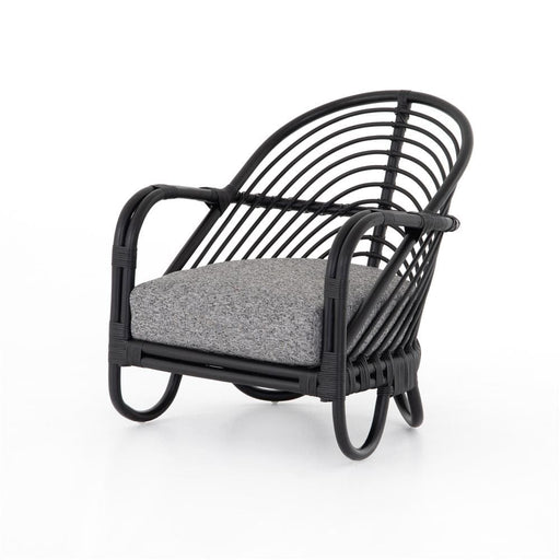Marina Ebony Rattan Chair Lago Graphite
