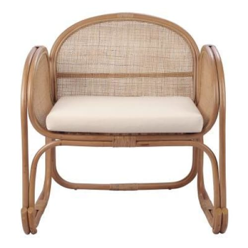 Massa Rattan Accent Chair Canary Brown