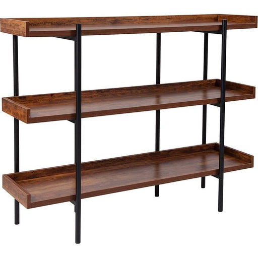 Maynard 3 Shelf Storage Display Bookcase