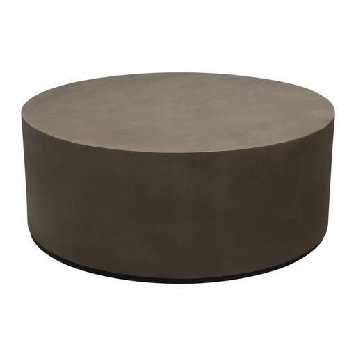 Montage Round Faux Cement Coffee Table