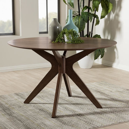 Montreal 47 Round Wood Dining Table