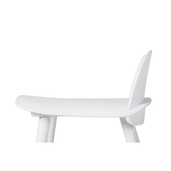 Nerd Counter Stool White