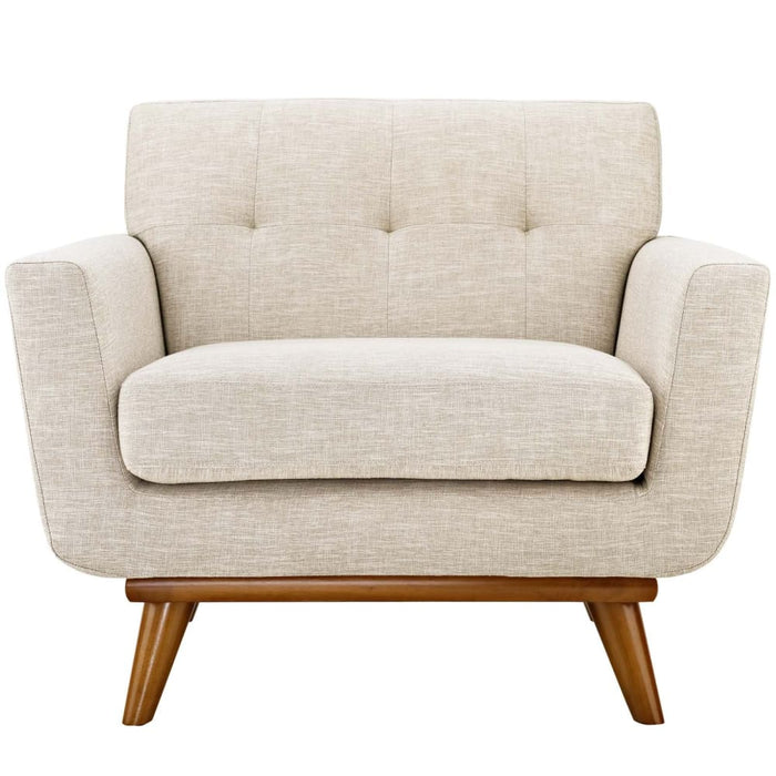Nixon UPHOLSTERED FABRIC ARMCHAIR