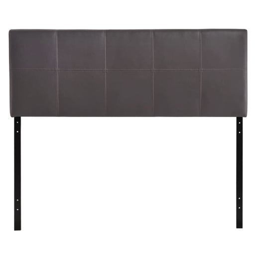 OLIVER QUEEN UPHOLSTERED VINYL HEADBOARD