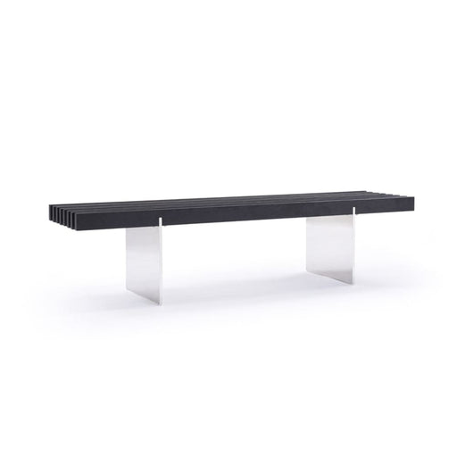 Oxford Black Ash Dining Bench