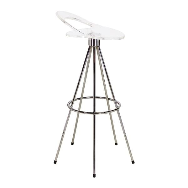 Pepe Cortes Jamaica Style Bar Stool Clear